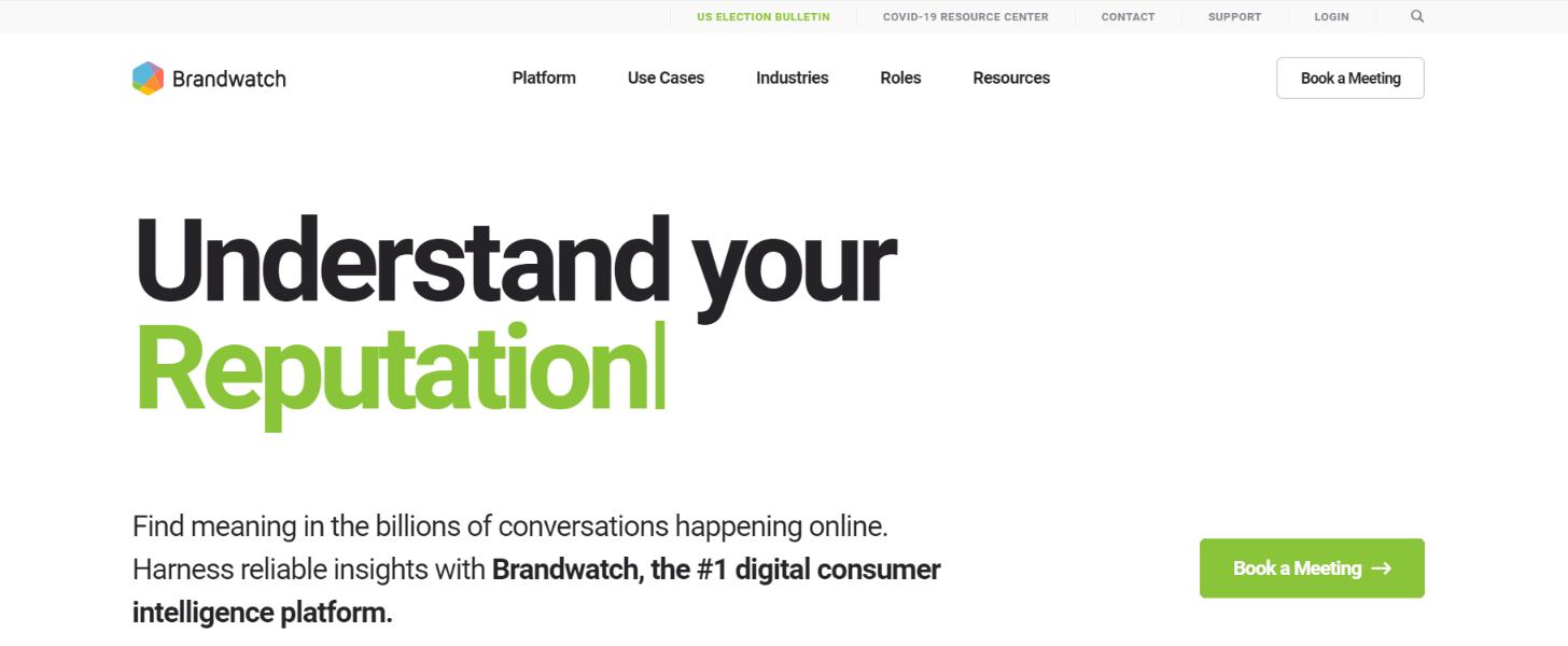 Brandwatch: Customer analytics tool and software