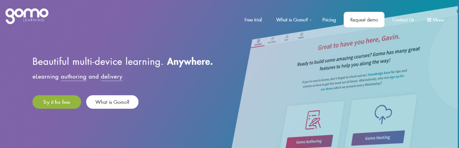 Gomo: Authoring tool