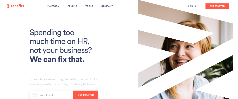 Zenefits: Employee onboarding tool