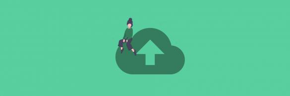 Cloud storage solutions - blog banner