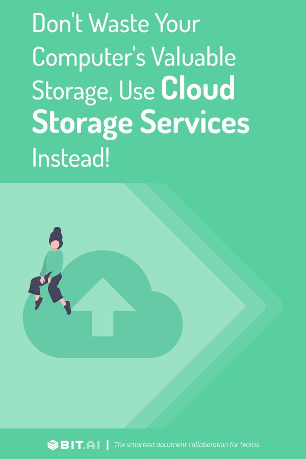 Cloud storage solutions - pinterest