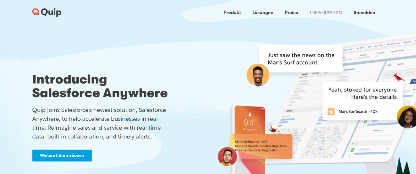 Quip: Airtable alternative and competitor