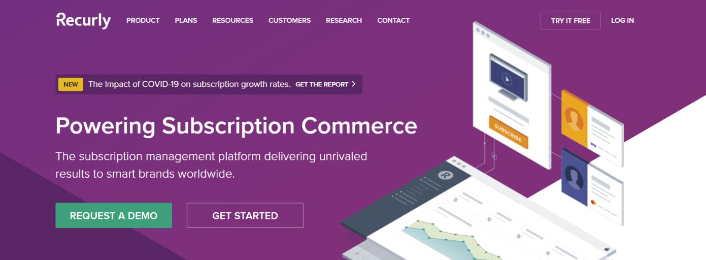 Recurly: Online Subscription Billing Software Platform