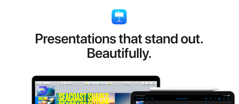 Keynote: Presentation tool