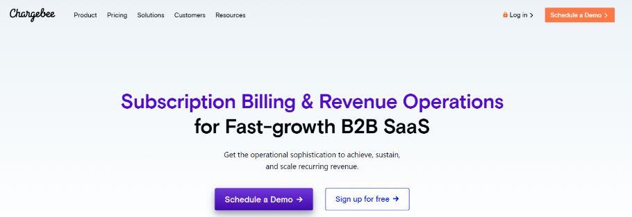 Chargebee: Online Subscription Billing Software Platform