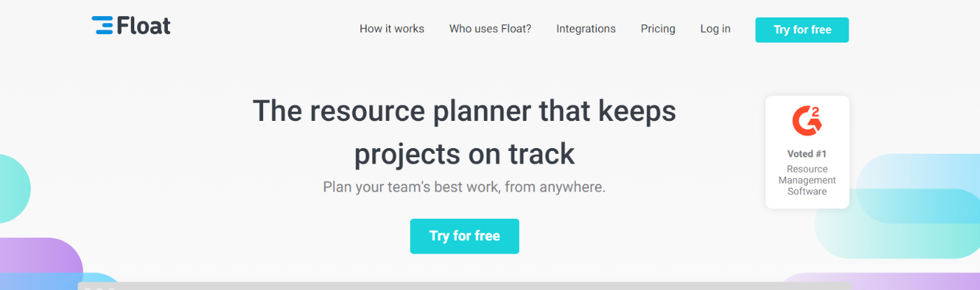 Float: Resource management tools and software