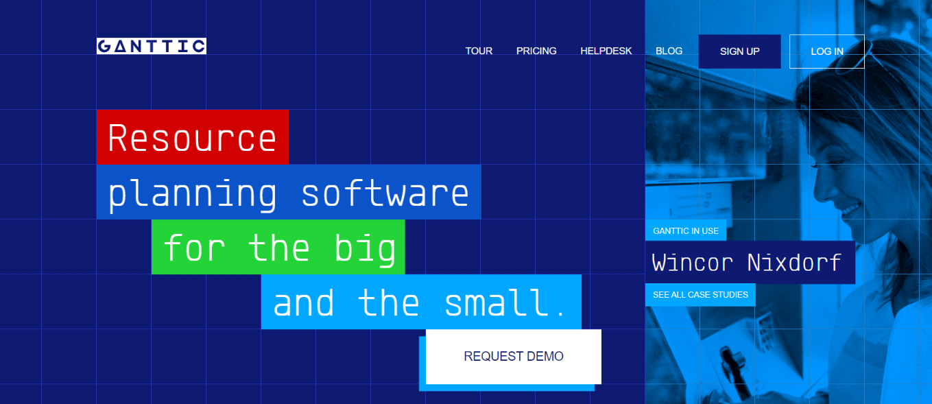 Ganttic: Resource management tools and software
