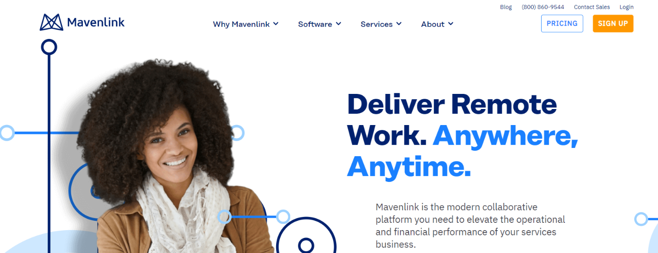 Mavenlink: Resource management tools and software