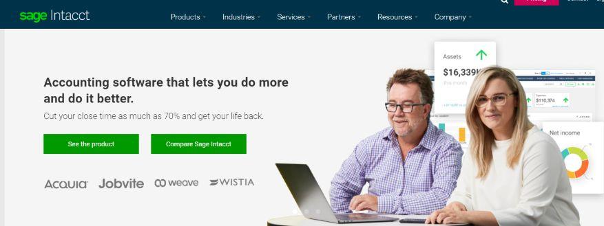 Sage intacct: Online Subscription Billing Software Platform