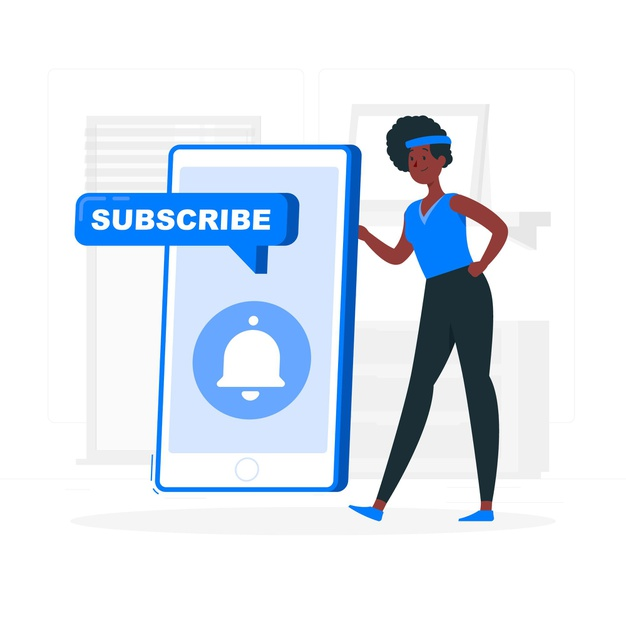 A subscribe icon