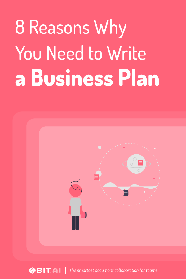 Reasons to write a business plan - pinterest