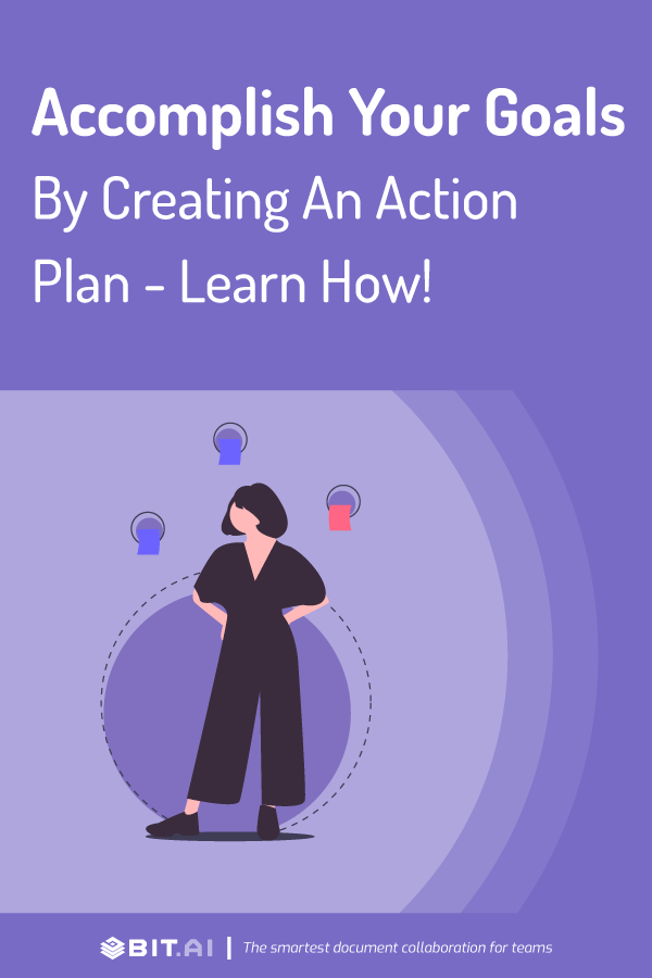 Action plan - pinterest