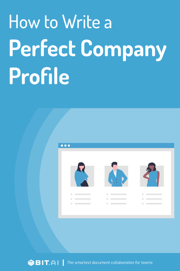 Company profile - pinterest