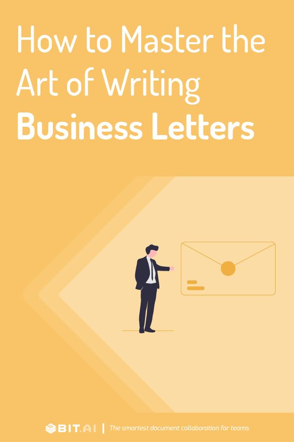 Business letters - pinterest