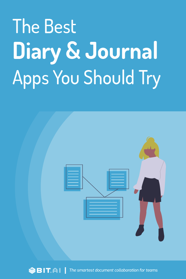 Dairy and journal apps - pinterest