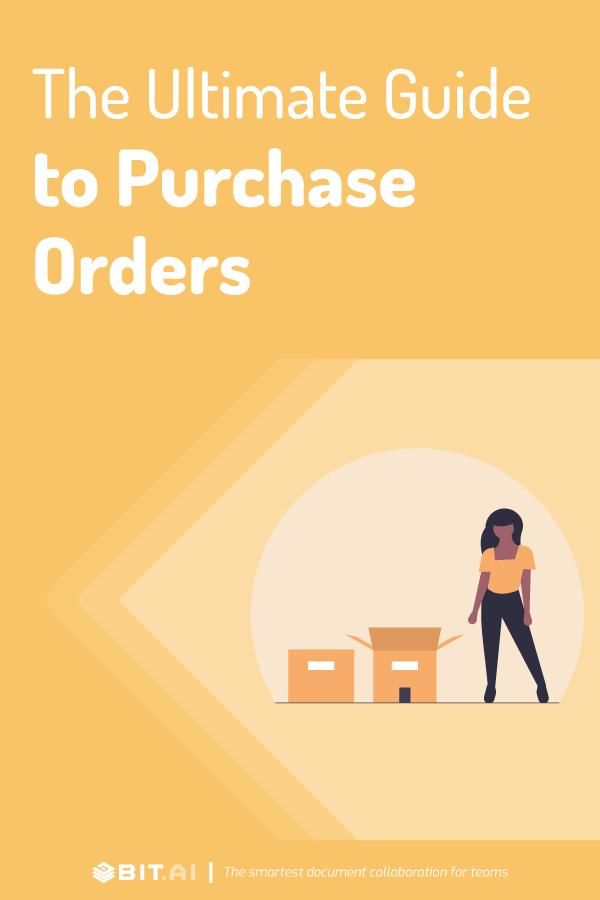 Purchase order - pinterest