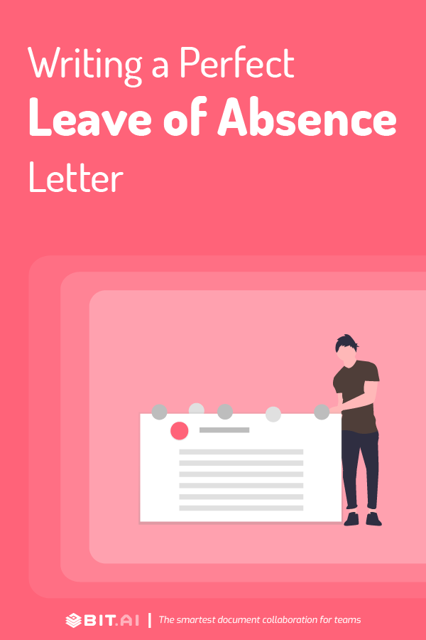 Leave of absence letter - Pinterest