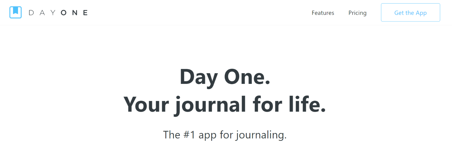 Day one: Journal and Diary App