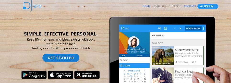 Diaro: Journal and Diary App