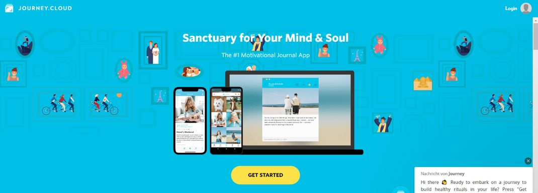 Journey: Journal and Diary App