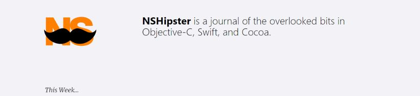 NSHipster: Programming blog and website