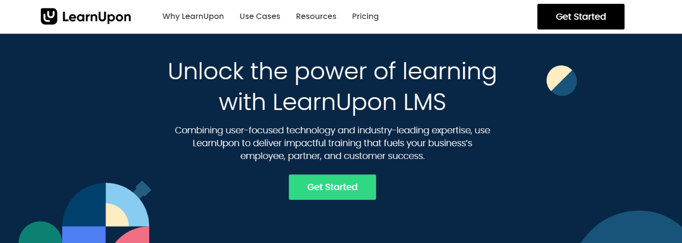 Learnupon: Employee training software