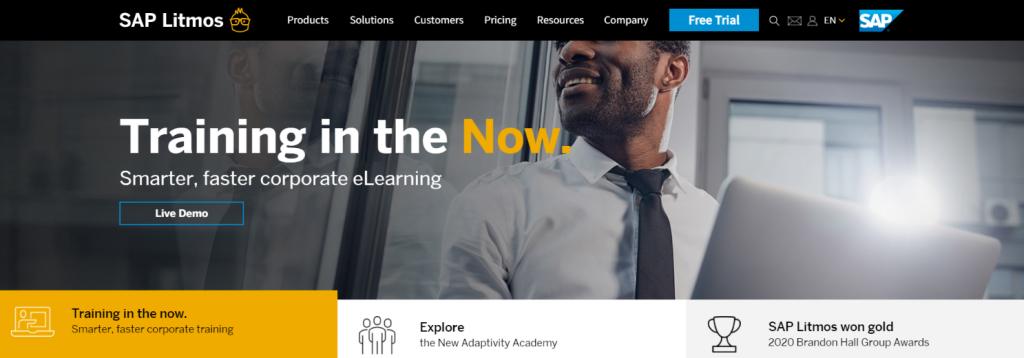 Litmos: Employee training software