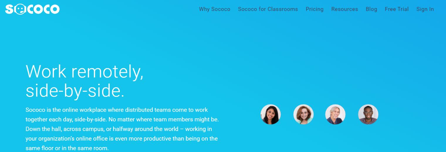 Sococo: Virtual Workspace Tool
