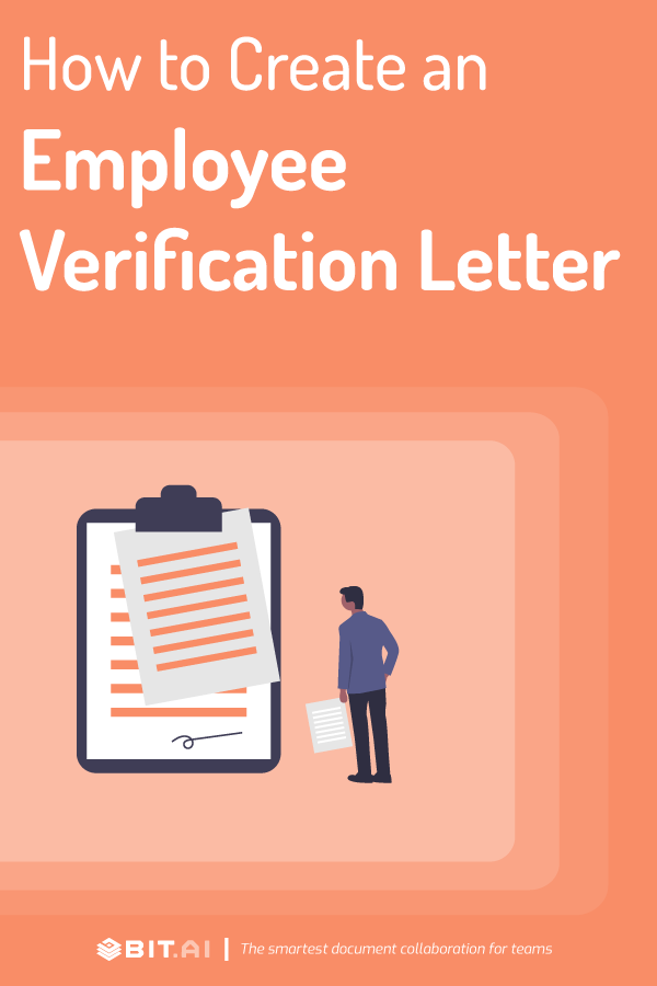 Employment verification letter - pinterest