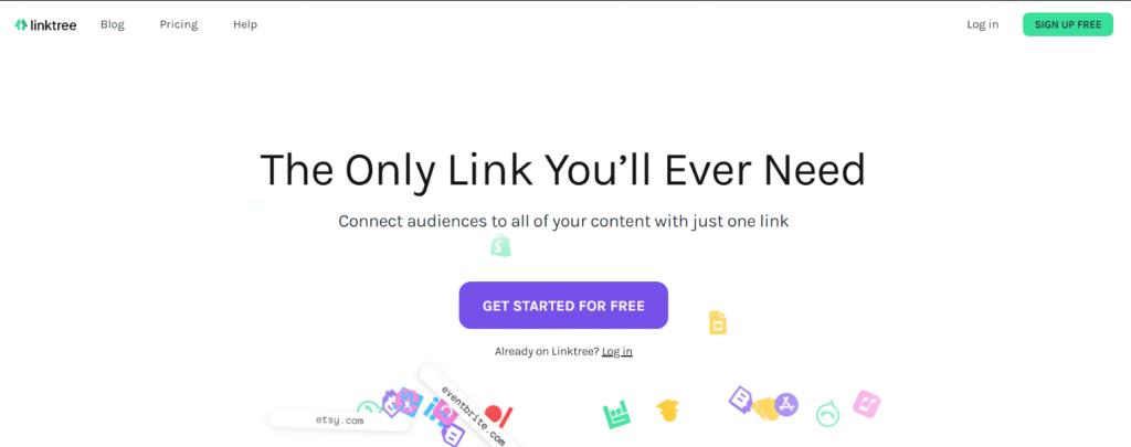 Linktree: Link in bio tool