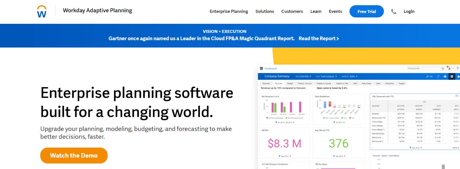 Adaptive Insights: Reporting Tool