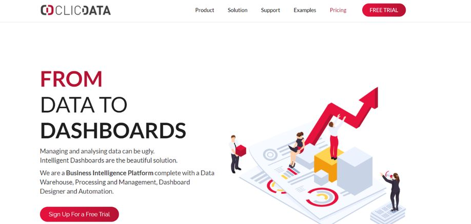 ClicData: Reporting Tool and Software