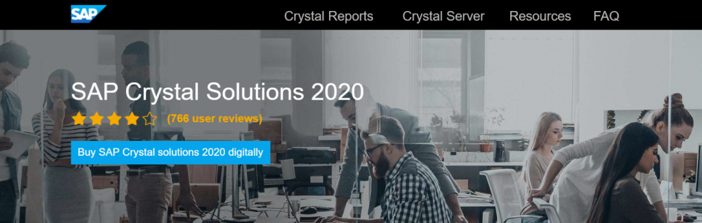 SAP Crystal Report: Reporting Tool and Software
