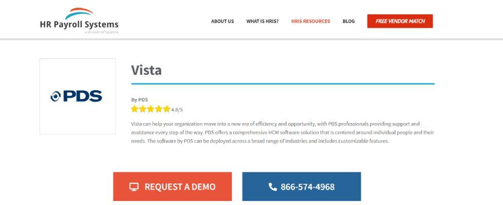 Pdf vista software: HR Software and Tool