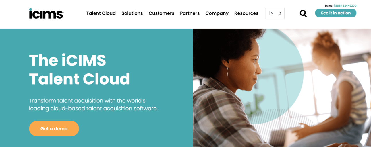 iCIMS Talent Cloud: HR Software and Tool