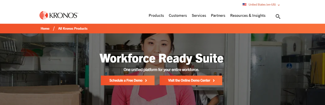 Kronos workforce ready: HR Software and Tool