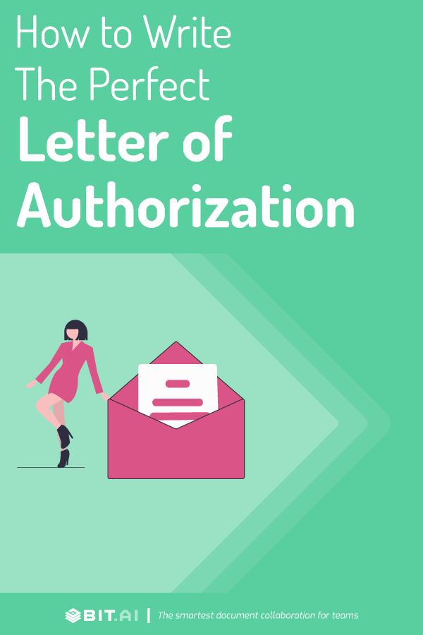 Letter of authorization - pinterest