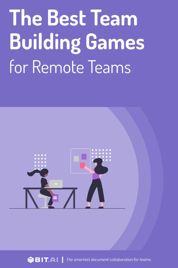 Virtual team building games - pinterest