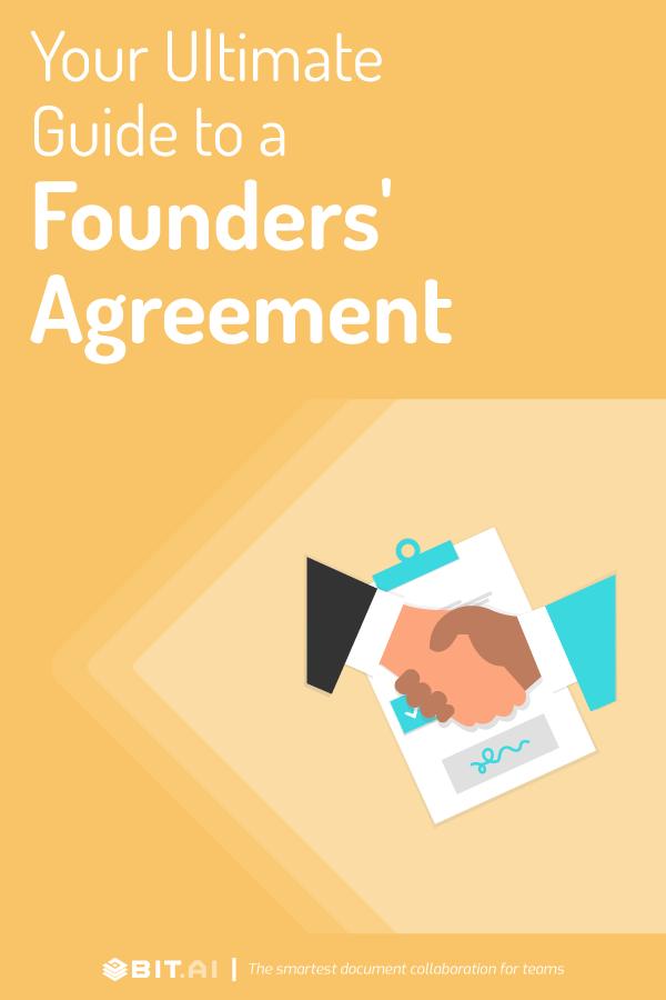 Founders' agreement - pinterest