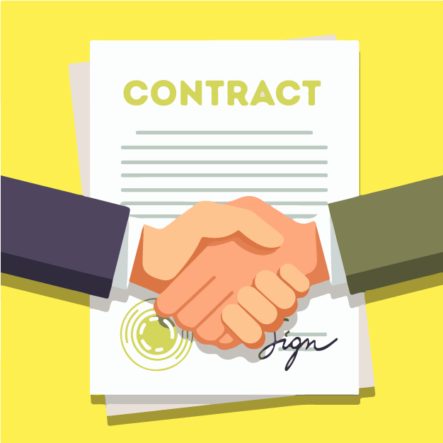 Companies signing a deal