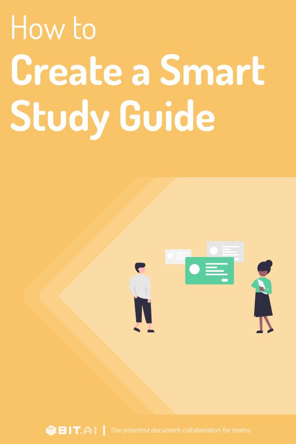 Study guide - pinterest