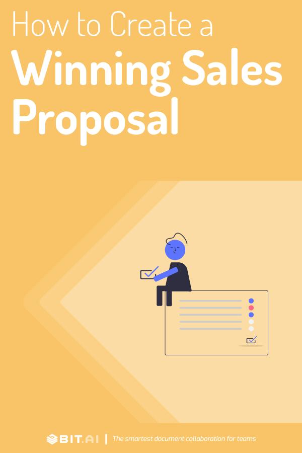 Sales proposal - Pinterest