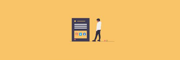Embed social media - blog banner