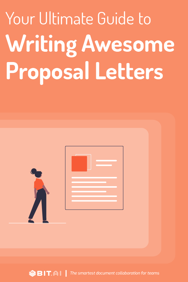 Proposal letter - Pinterest