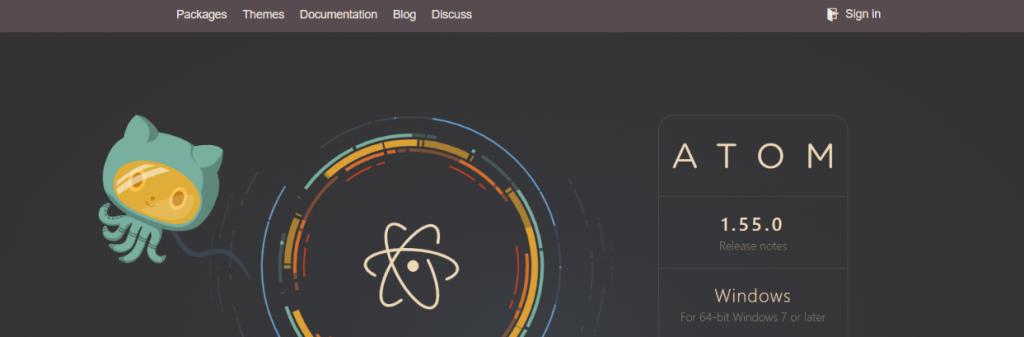 Atom: Text editor