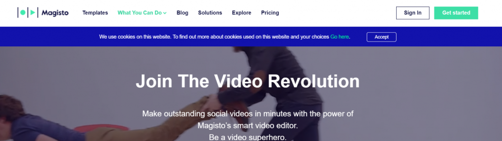Magisto: Video presentation software