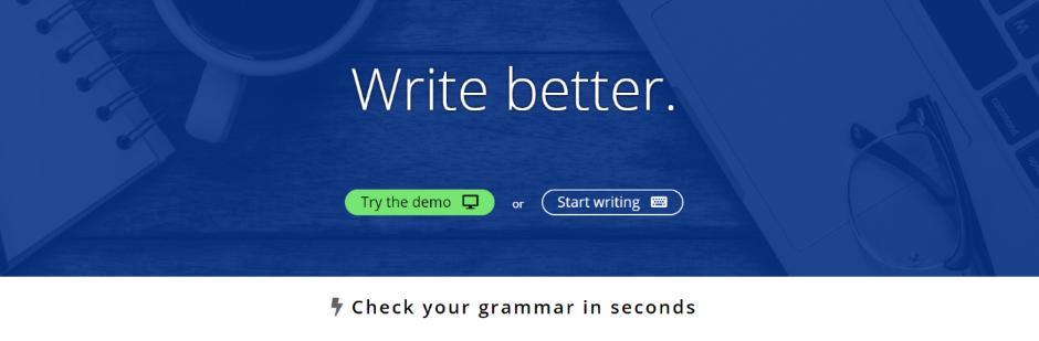 Slick writer: Grammarly Alternative and Competitor