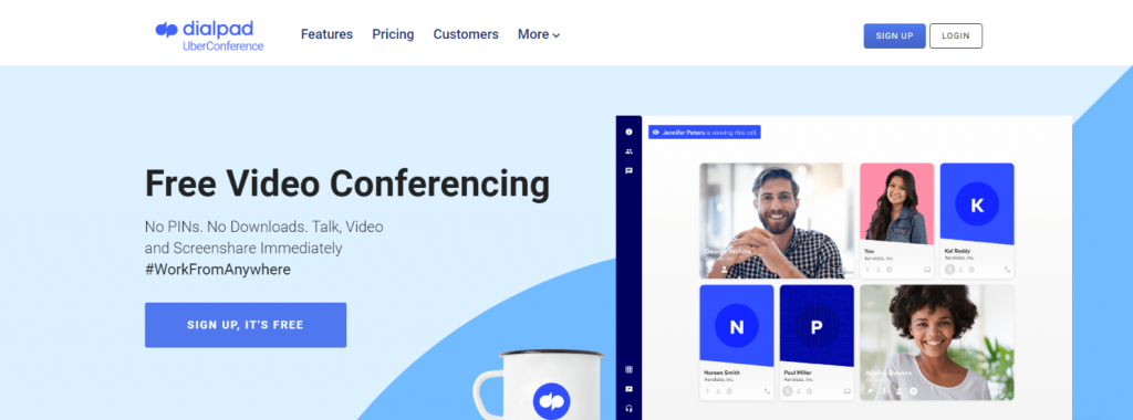 Uberconference: Online meeting app and software