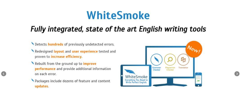 White smoke: Grammarly Alternative and Competitor