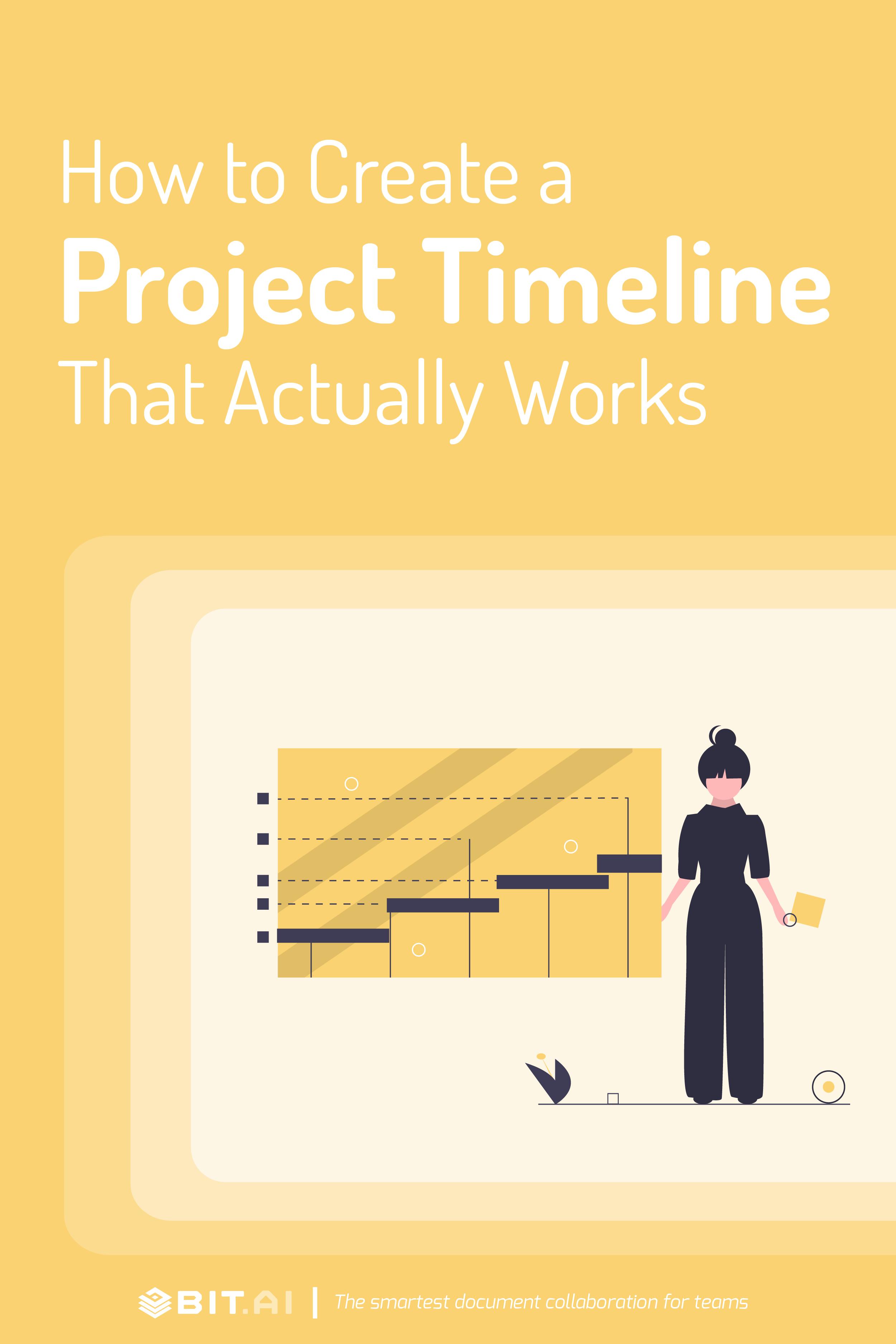 Project timeline - Pinterest